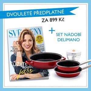 Předplatné časopisu Světženy.cz
