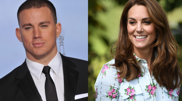 Channing Tatum, Kate Middleton